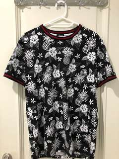 NEW! Original FOREVER 21 Floral Knit Tee