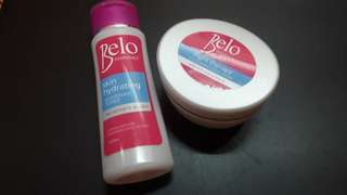 Belo Toner and Night Cream Bundle