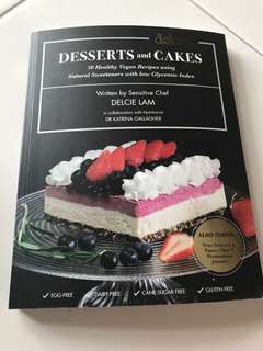 Desserts and cakes healthy recipes