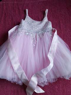 Pink gown/elegant dress for 2t-3t