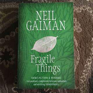 Fragile Things by Nail Gaiman