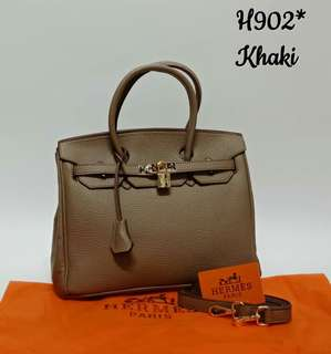 Hermes Birkin Khaki Color