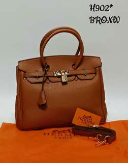 Hermes Birkin Brown Color