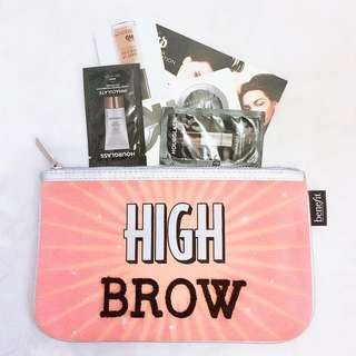 Benefit Pouch + Samples