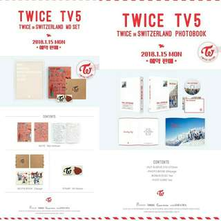 [GO] SEALED TWICE TV5 GOODS