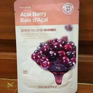 The Face Shop Acai Berry Sheet Mask