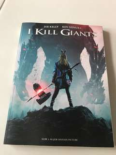 I kill giants comic book