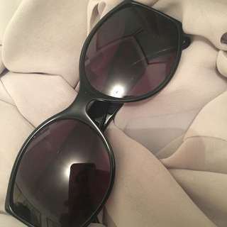 Christian Dior Original Vintage Black Sunglasses