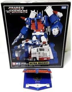 Transformers Ultra Magnus Masterpiece (Perfect Edition) MP-22 WITH LIMITED EDITION COIN