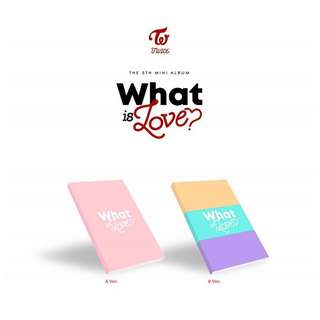TWICE WHAT IS LOVE ?