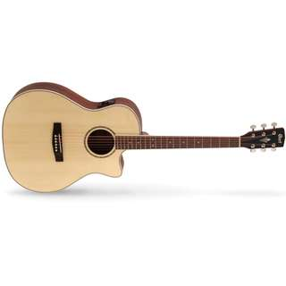 CORT GA-MEDX ACOUSTIC GUITAR WITH EQ WITH BAG