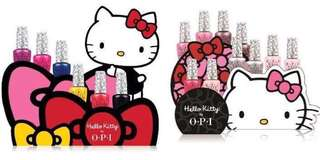 OPI HELLO KITTY SET each set X12 different colours (Pick your own Display)