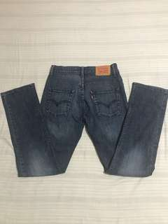 Authentic Levi's 512 Slim for Boys