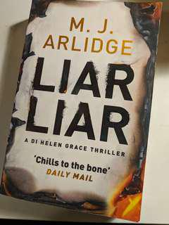 Liar Liar by M.J Arlidge