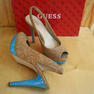 REPRICED!! Authentic GUESS Peeptoe
