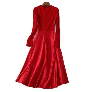 Long sleeves Elegant Dress