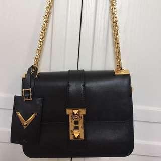 Valentino Double Chain Bag-可斜咩/手挽/側咩