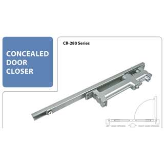 Bonco CRS 283 Concealed Closer ( Fits : 2.8cm door, up to 950mm width, 60kgs )