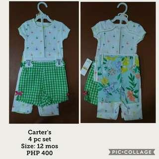 Carter's 4pc set