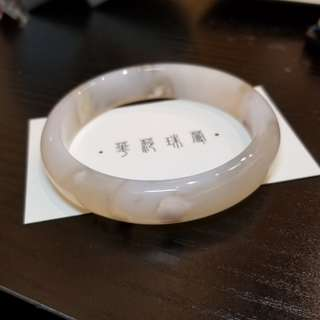 【櫻花瑪瑙手鐲 內徑61.5mm】