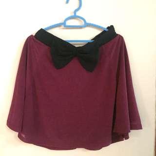 H&M Maroon Skirt