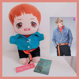 [Ready-stock]BTS Taehyung 20CM Doll
