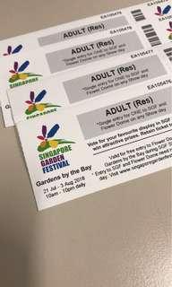 Singapore Garden Festival tickets (21 July - 3 Aug)