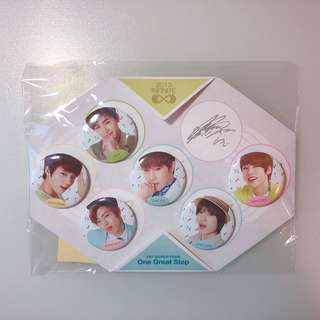 Infinite Concert Goods Batch (缺L)