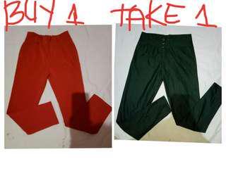 Buy 1 Take 1 - Formal Pants