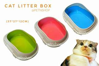 Cat Litter Box with 4 Locks