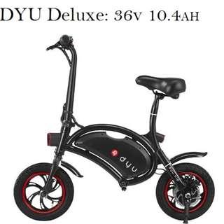 DYU Deluxe 36v 10.4AH