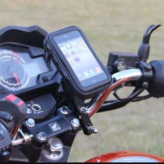 Phone holder water proof for motorbike or bike use