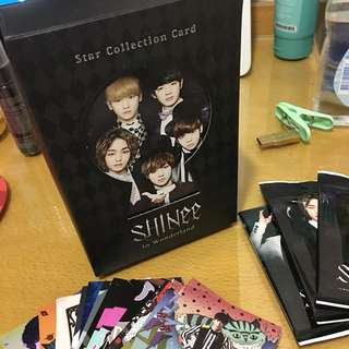 SHINee collection card