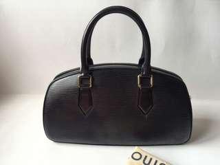 Authentic Louis Vuitton Black Epi Leather Jasmin