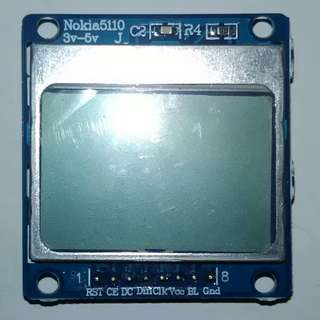 Nokia 5110 LCD with Blue Backlight Module