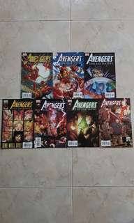 "Avengers The Initiative (Marvel Comics 7 Issues; #7 to 13, complete story arc on ""Killed in Action"")"