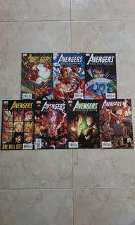 """Avengers The Initiative (Marvel Comics 7 Issues; #7 to 13, complete story arc on """"Killed in Action"""")"""
