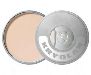 AUTH Kryolan Cake Makeup Matte Highlighter Powder