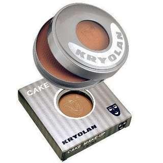 AUTH Kryolan Cake Makeup Matte Bronzer Powder