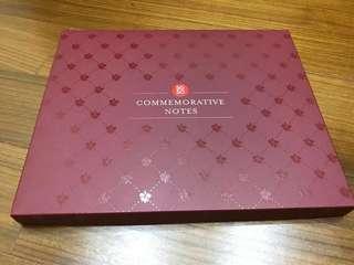 SG50 Commemorative Notes Folder (both Yusok and Yusof) - Brand New!