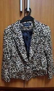 Leopard Blazer (F21)