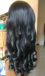 Lace Front Wig + free wig cap
