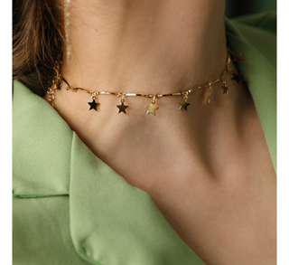 KOREAN STYLE STAR CLAVICLE NECKLACE