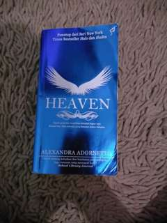 Novel Heaven Karya Alexandra Adornetto