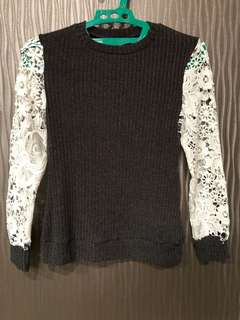 MDS Arm Laced Sweater size XS