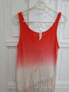 Forever 21 Ombre Top