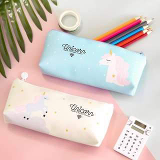 🚚 Unicorn PU Pencil Case