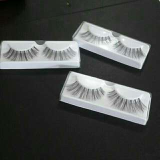 (Reprice) False Eyelashes (Bulu Mata Palsu)