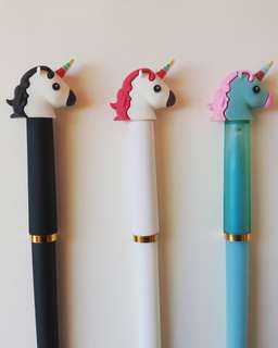 Brand New Unicorn Pens