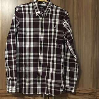 Authentic Fred Perry Button Down Polo